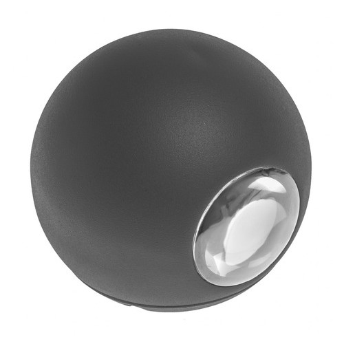 Подсветка Brille AL-235/2х3W NW LED IP65 BK (34-198)