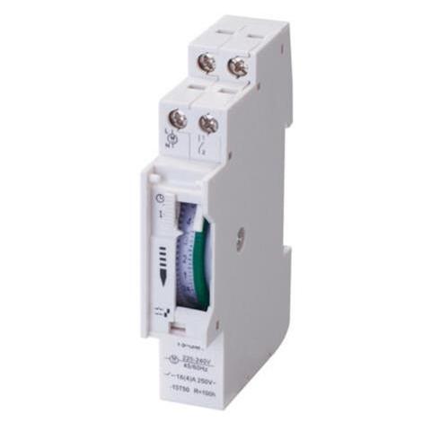 Механический таймер на дин рейку TIMER-3 Horoz Electric (108-003-0001-010)