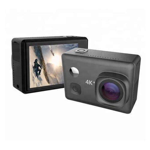 Видеокамера XPRO MAX REAL4K GYRO Black с реальной 4K съемкой, гироскопом и сенсорным экраном + Монопод в подарок!