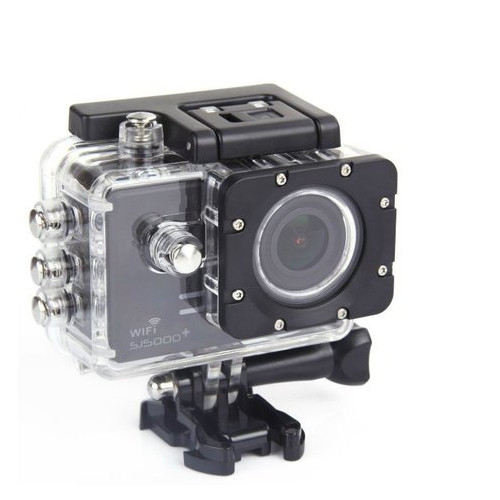 Экшн камера SJCam SJ5000+ WIFI черный (SJ5000pls-Black)