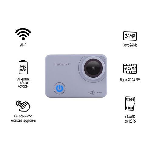 Экшн-камера AIRON ProCam 7 Touch (4822356754787)