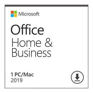 Программный продукт Microsoft Office Home and Business 2019 All Lng PKL Onln CEE Only DwnLd C2R NR