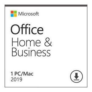 Программный продукт Microsoft Office Home and Business 2019 All Lng PKL Onln CEE Only DwnLd C2R NR