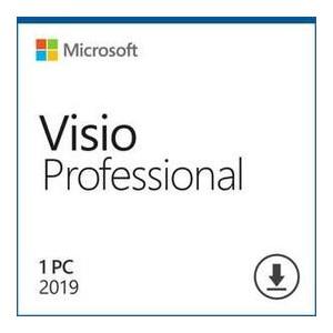 Программный продукт Microsoft Visio Pro 2019 Win All Lng PKL Online DwnLd C2R NR