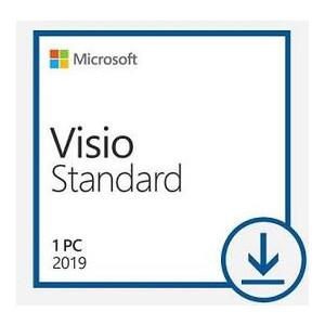 Программный продукт Microsoft Visio Std 2019 Win All Lng PKL Online DwnLd C2R NR