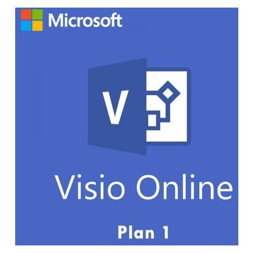 Программный продукт Microsoft Visio Online Plan 1