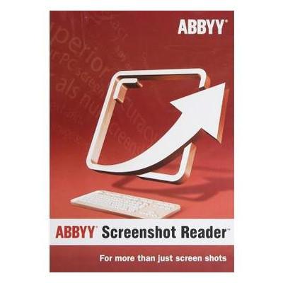 ПО для работы с текстом ABBYY Screenshot Reader (ESD) for personal use (SR11XW-FMPL-X)