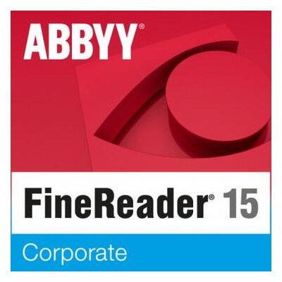 ПО для работы с текстом ABBYY FineReader 15 Corporate Single User License (ESD) GOV/NPO (FR15CW-FGPL-X)
