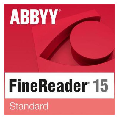 ПО для работы с текстом ABBYY FineReader 15 Standard Single User License (ESD) GOV/NPO (FR15SW-FGPL-X)