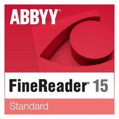 ПО для работы с текстом ABBYY FineReader 15 Standard Single User License (ESD) GOV/NPO (FR15SW-FGPL-X)
