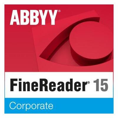 ПО для работы с текстом ABBYY FineReader PDF 15 Corporate (ESD) only for Academic (FR15CW-FEPL-X)