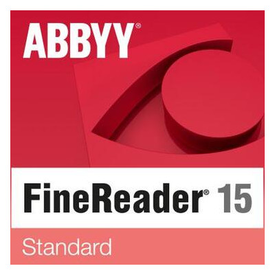 ПО для работы с текстом ABBYY FineReader PDF 15 Standard (ESD) only for Academic (FR15SW-FEPL-X)