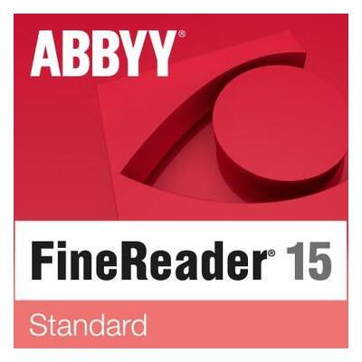 ПО для работы с текстом ABBYY FineReader PDF 15 Standard (ESD) only for Academic (FR15SW-FEPL-X)