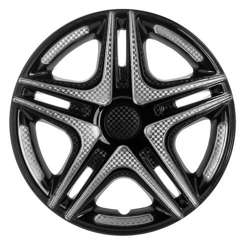 Колпаки на колеса Star R13 Дакар Super Black (Комплект 4 шт.)