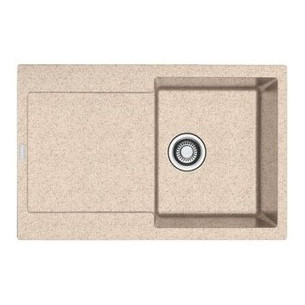 Кухонная мойка Franke MRG 611 оборотная, фрагранит, бежевый + сифон (114.0306.814)