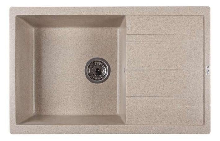 Мойка кухонная Ventolux DIAMANTE (BROWN SAND) 765x485x200