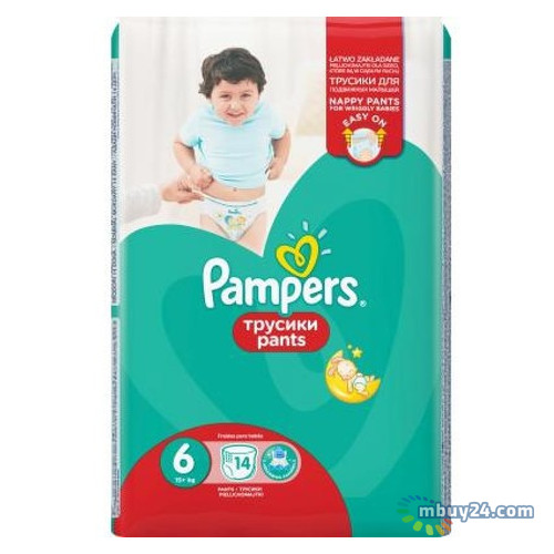 Подгузник Pampers Pants Extra Large (15+ кг) 14 шт (8001090414359)