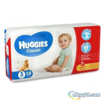 Подгузник Huggies Classic 5 Mega 58шт (5029053543192)