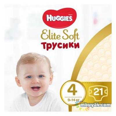 Подгузник Huggies Elite Soft Pants L размер 4 (9-14 кг) 21 шт (5029053546971)