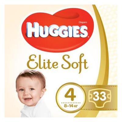 Подгузник Huggies Elite Soft 4 8-14кг Jumbo 33шт (5029053547787)