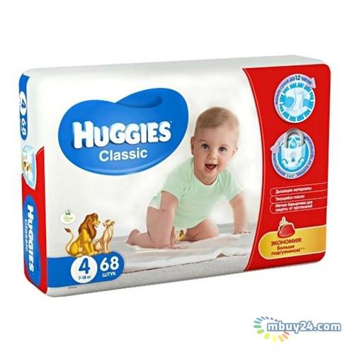 Подгузник Huggies Classic 4 Mega 68шт (5029053543154)