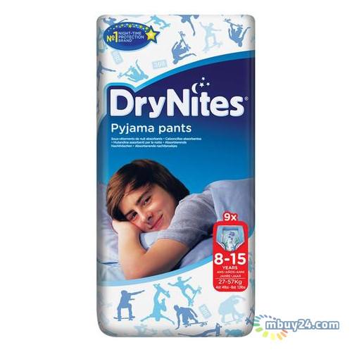 Подгузник Huggies DryNites для мальчиков 8-15лет 9шт (5029053527598)
