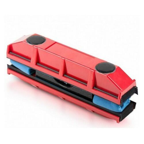 Щетка Glider магнитная для мытья стекол с двух сторон красная (77703775)