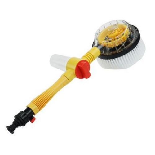 Щетка с насадкой для шланга Water Blast для мытья автомобиля желтый