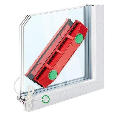 Щетка магнитная SUNROZ Glider с двух сторон Красный (4938)