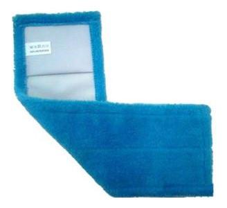 Насадка сменная для швабры с микрофибры Dream Land синяя