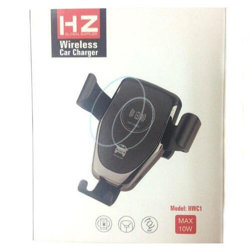 Автомобильный держатель для смартфона Holder HZ WC1 Wireless charger с беспроводной зарядкой (5371)