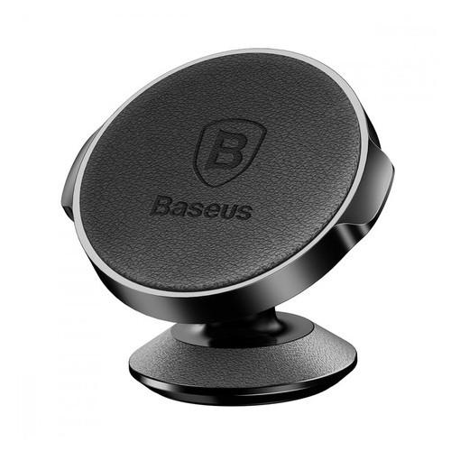 Держатель Baseus магнитный Small Ears Vertical Black