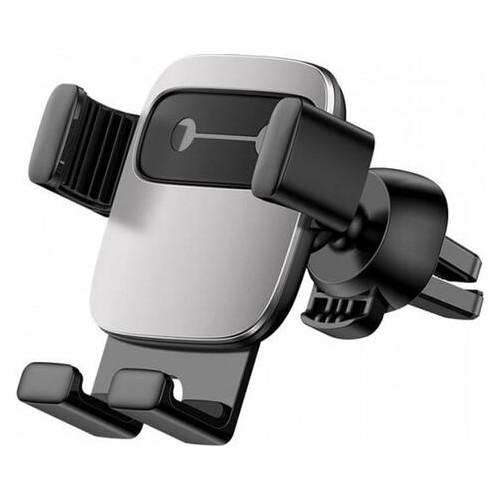Держатель автомобильный Baseus Cube Gravity Vehicle-Mounted Holder Silver (SUYL-FK0S)