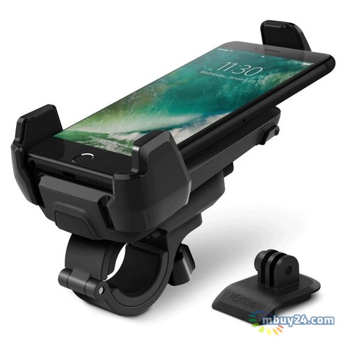 Автодержатель для смартфона iOttie Bike Holder for iPhone, Smartphones and GoPro Active Edge Black (HLBKIO102GP)