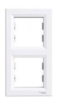 Рамка Schneider Electric Asfora EPH5810221 2-я вертикальная белый (10099956)