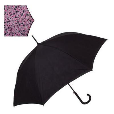 Зонт-трость женский полуавтомат с двойным куполом Fulton FULL754-Painted-Roses