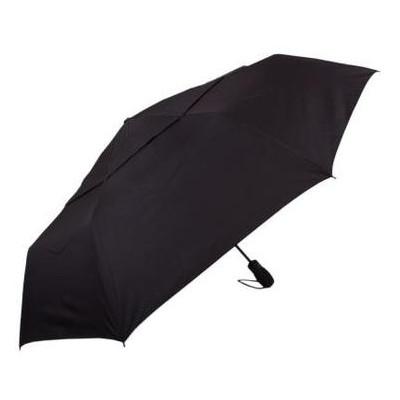 Противоштормовой зонт мужской автомат с большим куполом Fulton FULG840-Black