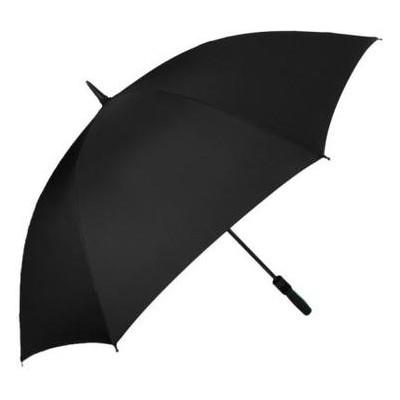 Противоштормовой зонт-трость мужской механический с большим куполом Fulton FULS837-Black