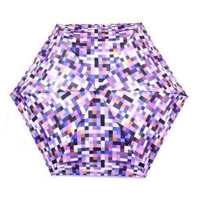 Зонт женский механический компактный облегченный Fulton  FULL501-Pixel-power
