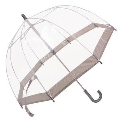 Зонт-трость детский облегченный механический Fulton FULC603-Silver