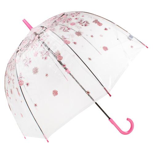 Зонт-трость женский механический Fulton FULL042-Sketchy-springs