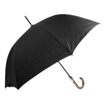 Зонт-трость мужской полуавтомат Fulton FULG894-black