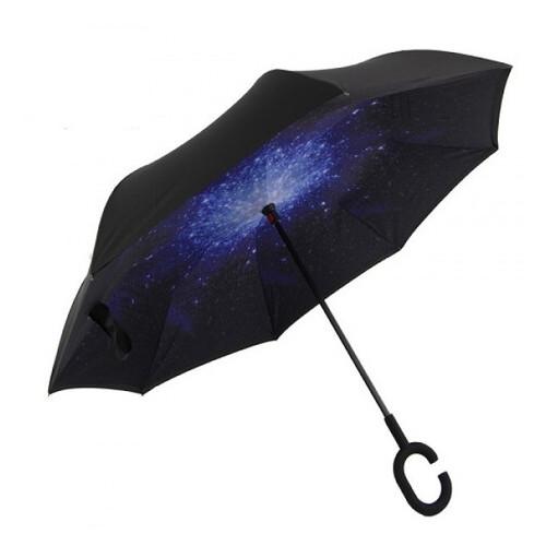 Зонт обратного сложения Stenson MH-2713-6