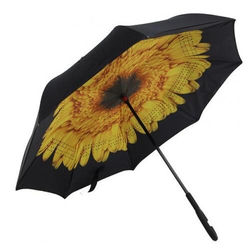 Зонт обратного сложения Stenson MH-2713-9