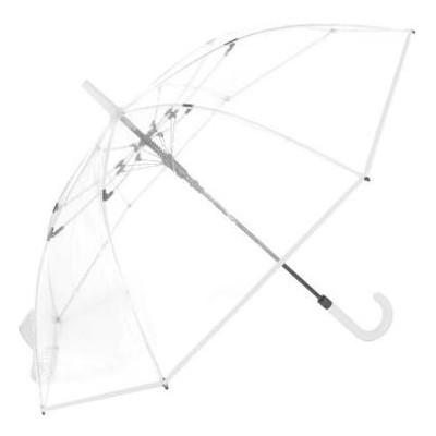 Зонт-трость женский полуавтомат Fare Pure FARE7112-White