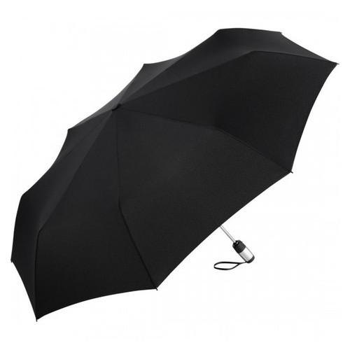 Зонт мини автомат Fare 5601 черный с большим куполом
