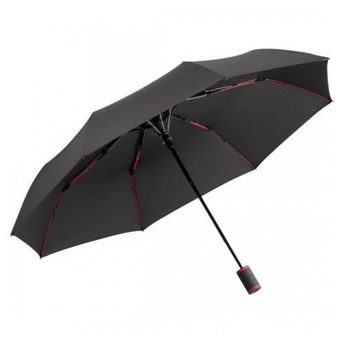 Зонт мини полуавтомат Fare 5583 антрацит/красный