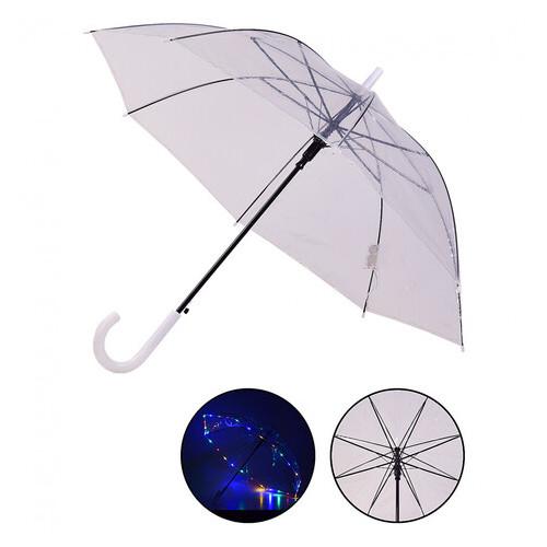 Зонт прозрачный Shantou трость (UM5216)