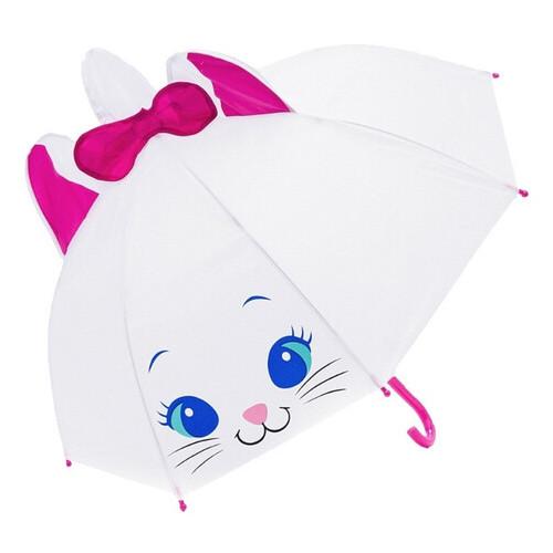 Зонт детский Shantou Котик белый (UM52610-1)