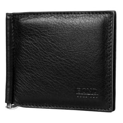 Зажим для купюр мужской кожаный Bond SHI439-281